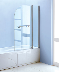 Bathroom Design, Remodeling. Accordion Shower Doors